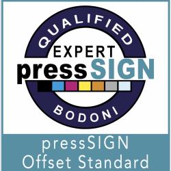 pressSIGN Offset Standard Certification
