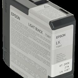 Epson UltraChrome K3 - Light Black - 80ml