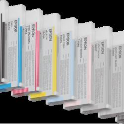 Complete set (matte black) 8 inks - Ultrachrome K3 VM - 220ml