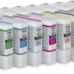 Epson 4900 Complete Set of 11 200ml UltraChrome HDR Inks