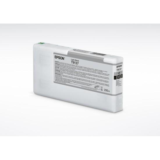 Epson HDX Ink - 200ml - Light Black