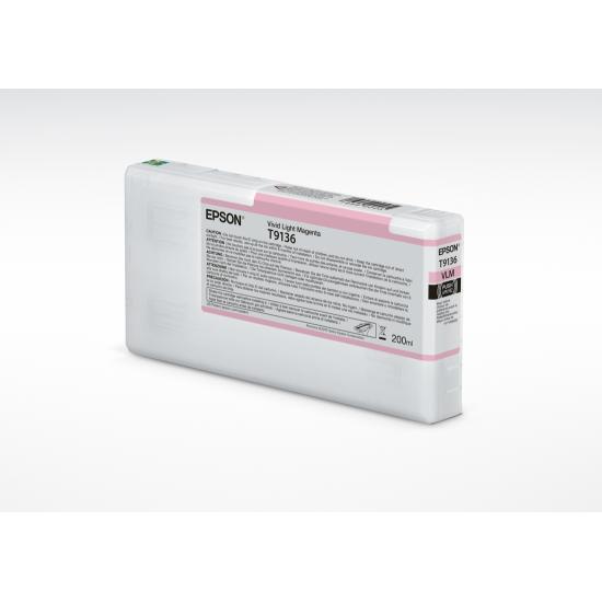 Epson HDX Ink - 200ml - Vivid Light Magenta