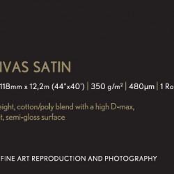 "Epson Premium Canvas Satin - 44"" x 12.2m roll"