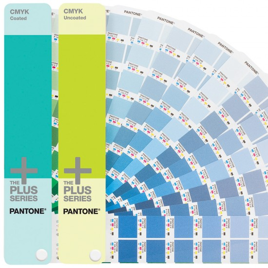 Pantone Plus CMYK Coated & Uncoated (two-guide set)