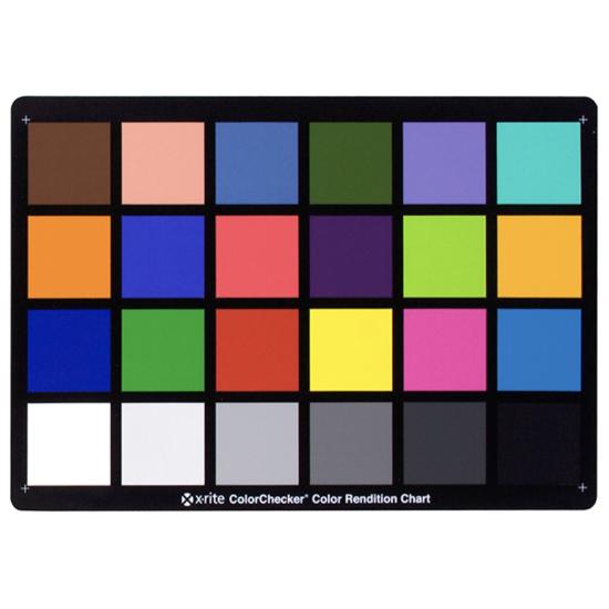 X-Rite ColorCheck Chart 24 Patch Chart