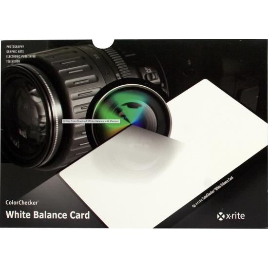 X-Rite ColorChecker White Balance