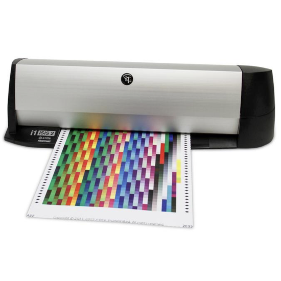 X-Rite i1 iSiS V2 XL automatic colour chart reader A3+