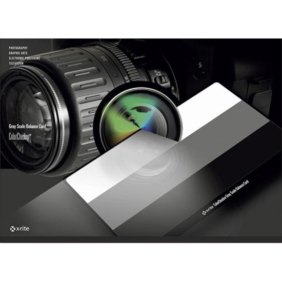 X-Rite ColorChecker Grey Scale Balance Card